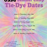 Summer Camp Tie Dye Days!