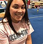 Image of Jessica Manieri at Ocean State School of Gymnastics Center