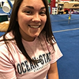 Image of Jessica Manieri at Ocean State School of Gymnastics Center