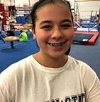 Image of Sydney Pimentel at Ocean State School of Gymnastics Center