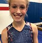 Image of Natalie Hollingworth at Ocean State School of Gymnastics Center