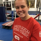 Image of Kelcey Hopkins at Ocean State School of Gymnastics Center