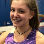 Image of Mazie Phillips at Ocean State School of Gymnastics Center